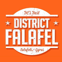 District Falafel Logo