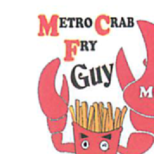 Metro Crab Fry Guy Logo